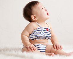 女の子赤ちゃんの初めての水着選び